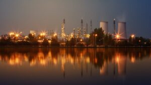 View of PETROCHEMICALS factory